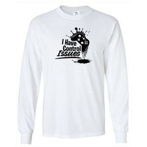 Youth Kids Control Issues T-Shirt Long Sleeve